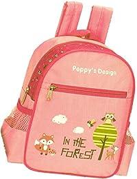 Preisvergleich für Kinderrucksack FOREST 440 Kinder Rucksack mit Brustgurt und Adressfach Farben: rosa , lila oder blau 25 cm
