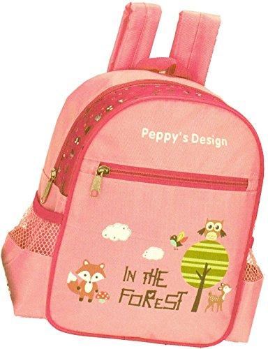 Kinderrucksack FOREST 440 rosa/pinkKinder Rucksack mit Brustgurt