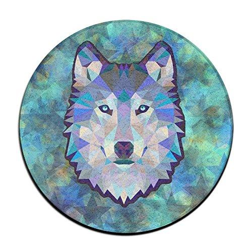 shizh Wolf Animals Fußmatte Eingangsmatte Bodenmatte Teppich Innen Außen Vordertürmatten rutschfest