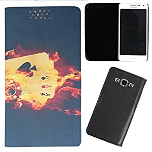DooDa - For Micromax Yu Yureka PU Leather Designer Fashionable Fancy Flip Case Cover Pouch With Smooth Inner Velvet