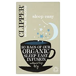 Clipper Organic Sleep Easy Tea Bag - Pack of 20, 40 g