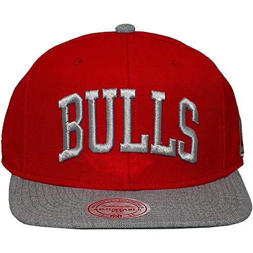 Mitchell And Ness - Casquette Snapback Homme Chicago Bulls TC Top - Red