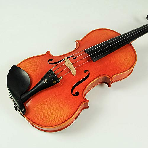 Miiliedy Frische natürliche handgemachte Violine Kind Erwachsene Anfänger üben die professionelle Melodiöse Geige mit Violine Box Bow Kolophonium Extra Saiten ( Size : 1/8 )