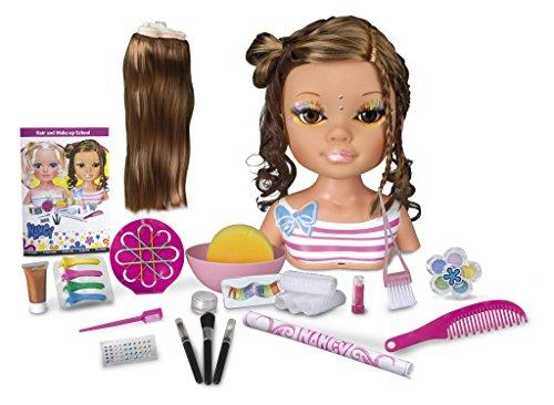 Nancy - Escuela de maquillaje y peluquería, con muñeca morena (Famosa 700011635)