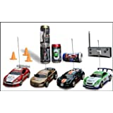 Digital Additions® Micro Remote Control RC Car in a Coke Can 1:64 Scale (Gold) 40MHZ