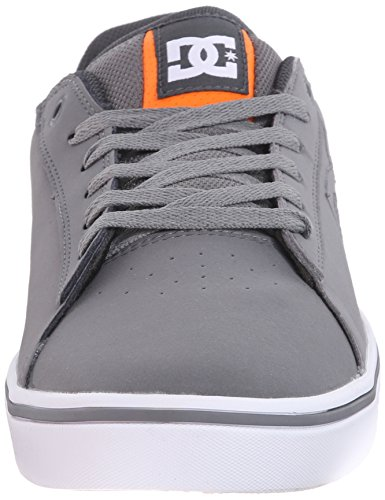 DC Men's Notch 2 Skate Shoe, Grey, 6 M US Grey