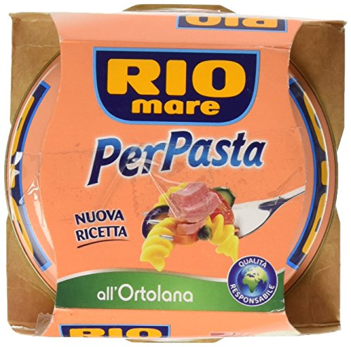 Rio Mare per Pasta Ortolana con Tonno, Pomodorini, Melanzane, Zucchine e Olio Extra Vergine di Oliva - 160 gr