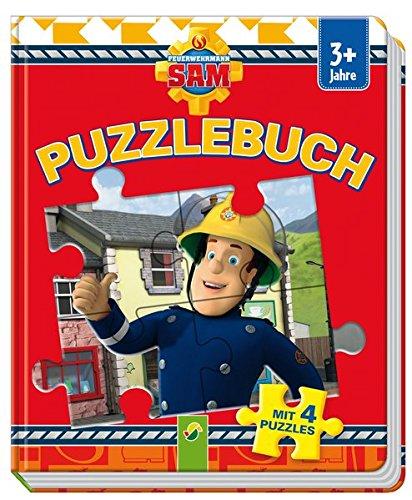 feuerwehrmann sam puzzlebuch Puzzlebuch Feuerwehrmann Sam: Mit 4 Puzzles
