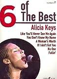 ALICIA KEYS - 6 of the best Songbook piano/vocal/guitar mit Bleistift -- Die 6 beliebtesten Hits der Sängerin u. a. mit FALLIN' arrangiert für Klavier, Gesang und Gitarre (Noten/Sheet music)