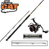 Fox Rage Waller Set - Wels Spinnrute 270cm 40-180g + CR600 Rolle, Welsangeln, Wallerangeln, Angeln auf Wels, Spinnfischen