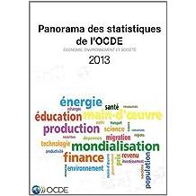 Panorama Des Statistiques De L'ocde 2013: Economie, Environnement Et Société