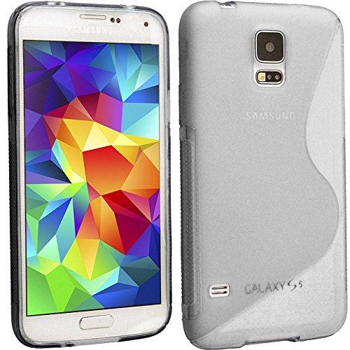 weiche S Line Wave TPU Silikon Back Skin Clear Schutzhülle für Samsung Galaxy S4Case Cover Line Wave Tpu Case