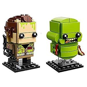 LEGO Brickheadz Peter Venkman e Slimer, Multicolore, 41622  LEGO