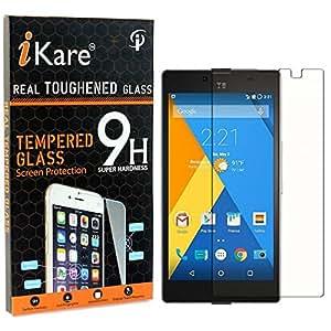 DMG Micromax Yuphoria Tempered Glass, iKare 2.5D 9H Tempered Screen Protector for Micromax Yuphoria