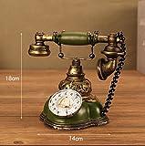 Europäisches Retro Telefon tun altes Café-Bar-Wohnzimmer-Schlafzimmer-Haus-dekorative Verzierungen , 1