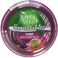 John West Mediterranean Spreadable Tuna, 80g