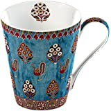 Creative Tops 1-Piece Bone China V&A Gujarat Fine Bone China Mug in a Gift Box
