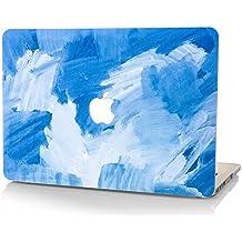 StarStruck Funda Dura MacBook Pro Retina 13 Pulgadas | Colección de Pintura al óleo (Azul Rosada)