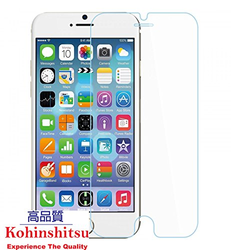 "Kohinshitsu Platinum Series Tempered Glass Screen Guard for Apple Iphone 6S Plus / Apple Iphone 6 Plus (5.5"") Mobile Phone"