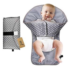 Iziv tapis langer portable pour changer les couches ou des v tements pour b b sac langer - Matelas a langer portable ...