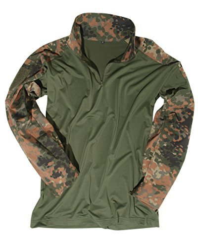 Mil-Tec Taktisches Shirt Flecktarn