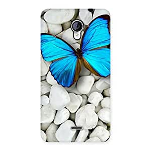 Cute Awesome ButterFly Multicolor Back Case Cover for Micromax Unite 2 A106