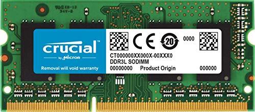 Crucial CT8G3S186DM 8GB Speicher für Mac (DDR3/DDR3L, 1866 MT/s, PC3-14900, SODIMM, 204-Pin) -
