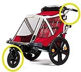 Bellelli Kit conversione in passeggino versione Urban per B-Travel con ruota da 12' girevole a 360° e maniglione