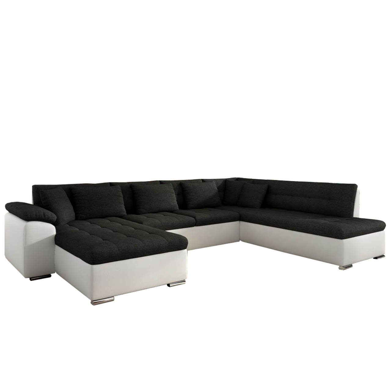 NIKO Wohnlandschaft mit Bettfunktion in U-Form Sofa mit Schlaffunktion