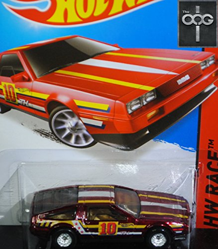 2015 Hot Wheels Super Treasure Hunt DMC Delorean 184/250 With Real Riders Tires! by Hot Wheels