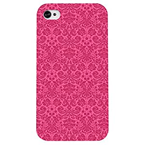 I phone 4/4s The Pink Wall Printed back cover