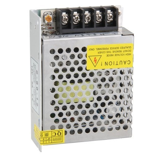 Kimilar DC 12V 5A Switching Power Supply Regulated Transformer w/ Short Circuit and Over Current Protection Test