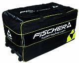 Fischer Goalie Pro Wheelbag Senior, Farbe:schwarz