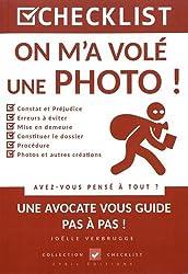 CHECKLIST On m'a volé une Photo !