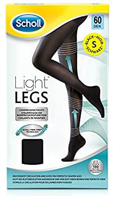Scholl Light Legs Compression Tights 60 Den - Black - inexpensive UK light shop.