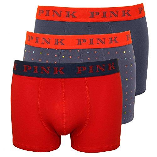 boxer-costume-da-thomas-pink-confezione-da-3-flotta-carta-stampa-uomo-navy-red-navy-x-large
