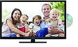 Lenco DVL-2862BK 28 Zoll LED-Fernseher (70 cm) mit DVD-Player und DVB-T2 HD, Triple-Tuner und 12 Volt Kfz-Adapter (HD Ready, HDMI, USB, SCART, CI+), schwarz