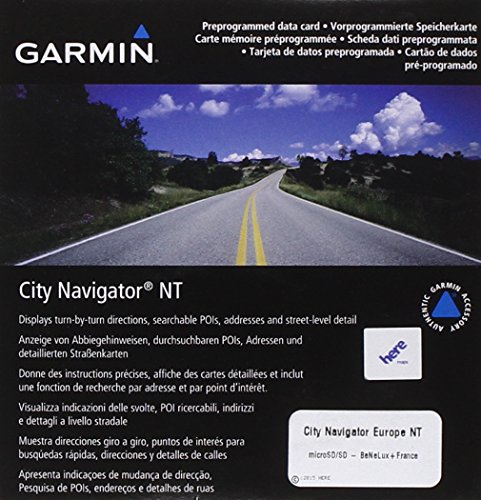 Garmin City Navigator Europe NT Mappe: Benelux e Francia