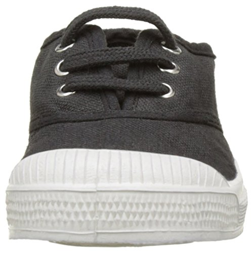Bensimon Tennis, Baskets Basses Fille Noir (Carbone)
