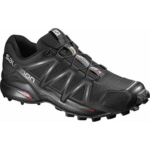 Salomon Speedcross 4, Chaussures de Trail homme - Black
