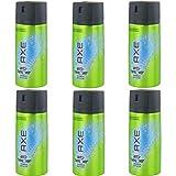 New Design Axe Anti Hangover Deospray 6 x 150ml = 900ml