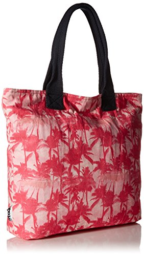 Superdry sacchetto Summer Time Tote, Mermaid Palm Pink Ytz, Taglia unica Mermaid Palm Pink Ytz