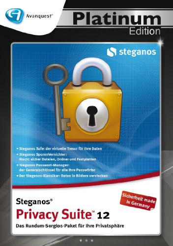 Steganos Privacy Suite 12 - Avanquest Platinum Edition