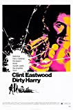 Dirty Harry Poster Drucken (60,96 x 91,44 cm)