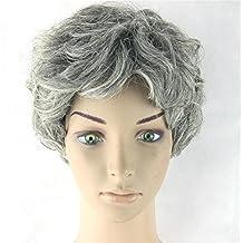 pengweiparrucca di capelli grigi parrucche capelli corti 74dece4b8e1a