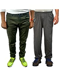 Van Galis Fashion Wear Combo Of Joggers And Lower For Men-Pack Of 2
