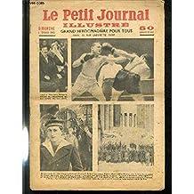 LE PETIT JOURNAL - supplément illustré numéro 2302 - CAZOT ET Mme CAZOT DEVANT LE TRIBUNAL DE FONTAINEBLEAU, QUI JUGE L'AFFAIRE DES FAUX MILLET - UNE PHASE EMOTIONNANTE DU MATCH DE BOXE QUI OPPOSA EUGENE HUA A MILOU PLADNER POUR LE TITRE DE CHAMPION..