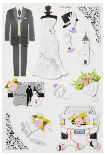 Creapop Sticker * Hochzeit II * Aufkleber