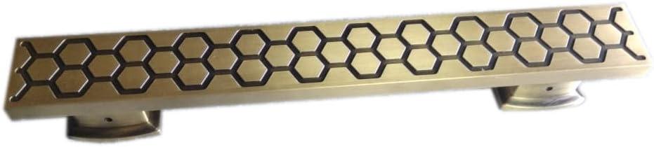 "Surya Prabha Aluminium Main Door Handle, Gold (Size: 24""-inches) 2 Pcs. SP-116"