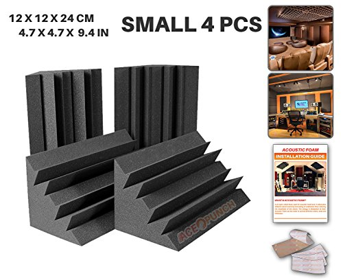 ace-punch-4-pack-bass-trap-acoustic-foam-panel-diy-design-studio-soundproofing-wall-tiles-sound-insu